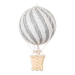 Filibabba - Balon 10 cm Grey | Esy Floresy
