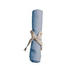 Filibabba - Pieluszka muślinowa 65 x 65 cm Powder Blue   Esy Floresy