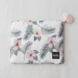 Bolo - Muślinowa poduszka Kwiaty 25x30 | Esy Floresy