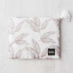 Bolo - Muślinowa poduszka Liście 25x30 | Esy Floresy