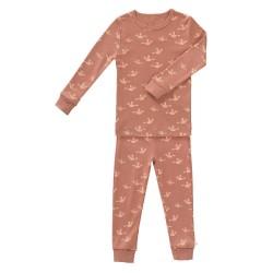 Fresk - Piżama bawełniana dwuczęściowa 2 lata Ptaszki   Esy Floresy