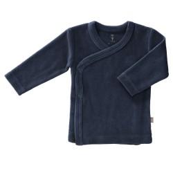 Fresk - Kardigan welurowy 6-12 miesięcy Indigo blue   Esy Floresy