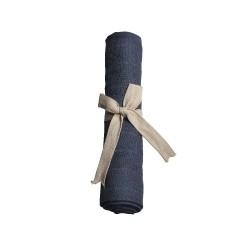 Filibabba - Pieluszka muślinowa 65 x 65 cm Dark Blue   Esy Floresy