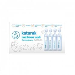 Katarek - Roztwór soli fizjologicznej NaCl 0,9% 10x5 ml | Esy Floresy