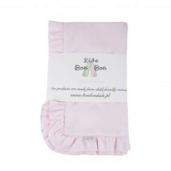 Bon Bon Kids - Pościel różowa z falbanką | Esy Floresy