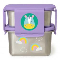 Skip Hop - Stalowe pudełko śniadaniowe Jednorożec | Esy Floresy