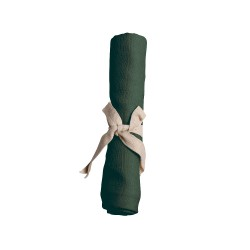 Filibabba - Pieluszka muślinowa 65 x 65 cm Dark Green   Esy Floresy