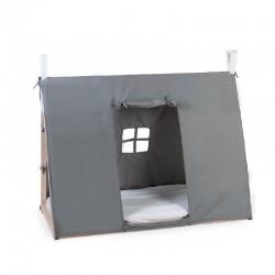 Childhome - Poszycie do łóżka Tipi 70 x 140 cm Grey | Esy Floresy