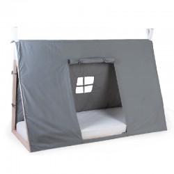 Childhome - Poszycie do łóżka Tipi 90 x 200 cm Grey | Esy Floresy
