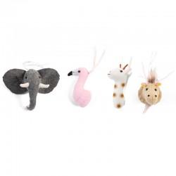 Childhome - Zestaw filcowych zwierzątek do pałąka 4 szt.   Esy Floresy