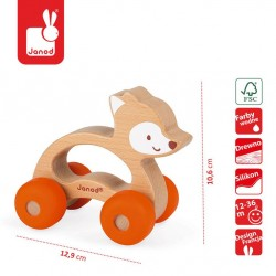 Janod - Lisek pojazd Baby Pop | Esy Floresy