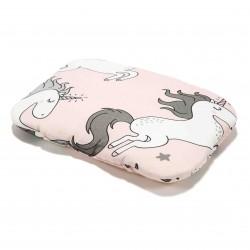 La Millou - Poduszka Baby Bamboo Pillow - UNICORN SUGAR BEBE | Esy Floresy