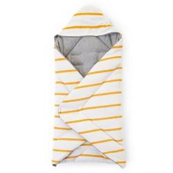 Childhome - Kocyk 80 x 100 cm Jersey Ochre Stripes | Esy Floresy
