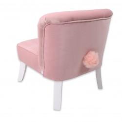 Bon Bon Kids - Fotelik tapicerowany Bunny różowy | Esy Floresy