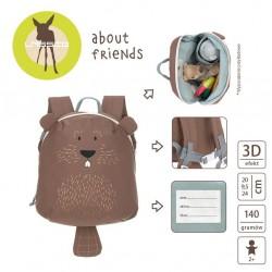 Lassig - Plecak mini About Friends Bóbr | Esy Floresy