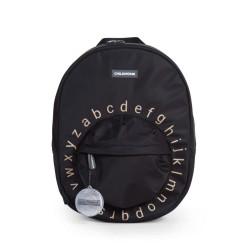 Childhome - Plecak dziecięcy ABC Czarno-złoty | Esy Floresy