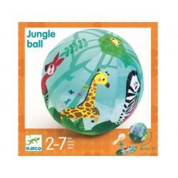 Djeco - Piłka materiałowa DŻUNGLA z balonami 23 cm   Esy Floresy