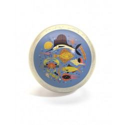 Djeco - Piłka gumowa OCEAN 22cm | Esy Floresy