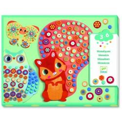 Djeco - Mozaiki dla maluchów MILLEFIORI   Esy Floresy
