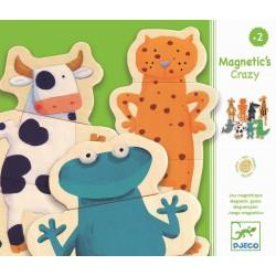 Djeco - Magnetyczne puzzle drewniane zwierzątka | Esy Floresy
