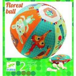 Djeco - Piłka materiałowa LAS z balonami   Esy Floresy
