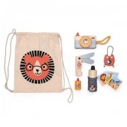 Tender Leaf Toys - Zestaw podróżnika - Przygoda na Safari | Esy Floresy