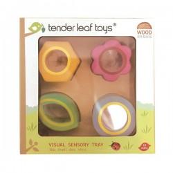 Tender Leaf Toys - Drewniana zabawka sensoryczna - Kwiaty - zabawka optyczna | Esy Floresy