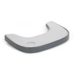 Childhome - Tacka ABS do krzesełka Evolu 2 + mata silikonowa Anthracite   Esy Floresy