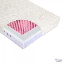Materac do łóżeczka MODIO VISCO 120cm x 60cm z pokrowcem Tencel + Klin | Esy Floresy