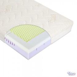 Materac dla niemowlaka MODIO R 120cm x 60cm z pokrowcem Cotton-BCI + Klin | Esy Floresy