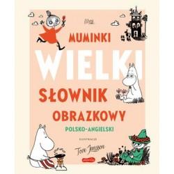 Muminki. WIELKI SŁOWNIK OBRAZKOWY polsko-angielski | Esy Floresy