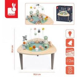 Janod - Wielofunkcyjny stolik edukacyjny drewniany Sweet Cocoon | Esy Floresy