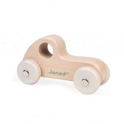 Janod - Drewniany pojazd Sweet Cocoon, Samochód Osobowy Naturalne drewno | Esy Floresy