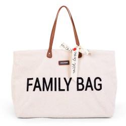 Childhome -Torba Family Bag Teddy Bear White (Limited Edition) | Esy Floresy
