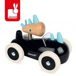 Janod - Drewniany samochód w stylu retro Spirit Rony | Esy Floresy