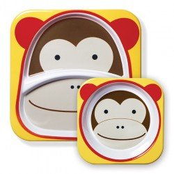 Skip Hop - Zestaw jedzeniowy Zoo Małpa | Esy Floresy