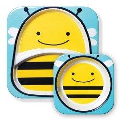 Skip Hop - Zestaw jedzeniowy Zoo Pszczółka | Esy Floresy