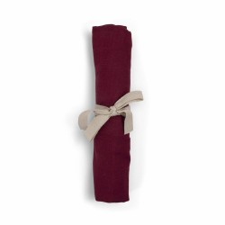 Filibabba - Pieluszka muślinowa 65 x 65 cm Deeply red   Esy Floresy