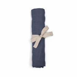 Filibabba - Pieluszka muślinowa 65 x 65 cm Muddly blue   Esy Floresy
