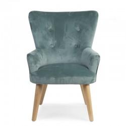 Childhome - Sofa pojedyncza Velvet Green | Esy Floresy