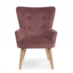 Childhome - Sofa pojedyncza Velvet Rosa | Esy Floresy