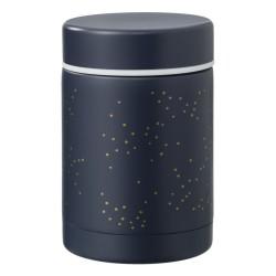 Fresk Termos na jedzenie 300 ml Złote kropki Indigo | Esy Floresy