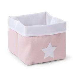 Childhome - Pudełko płócienne 32 x 32 x 29 cm Soft Pink | Esy Floresy