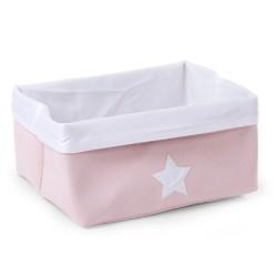 Childhome - Pudełko płócienne 40 x 32 x 20 cm Soft Pink | Esy Floresy