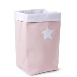 Childhome - Pudełko płócienne 32 x 32 x 60 cm Soft Pink | Esy Floresy