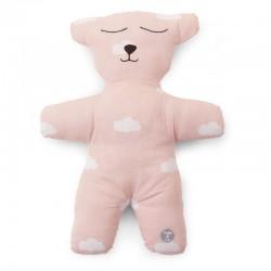 Childhome - Pluszowa poduszka Miś różowy   Esy Floresy