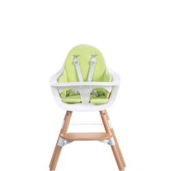 Childhome - Ochraniacz-poduszka do krzesła Evolu frote limonka   Esy Floresy