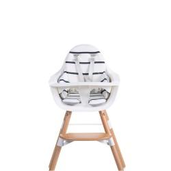 Childhome - Dwustronny ochraniacz do krzesełka Evolu 2 Jersey Grey/Marin | Esy Floresy
