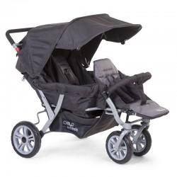 Childhome - Wózek trzyosobowy Triplet | Esy Floresy