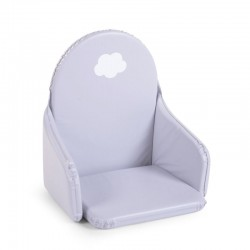 Childhome - Ochraniacz do krzesełka PVC chmurka szary   Esy Floresy